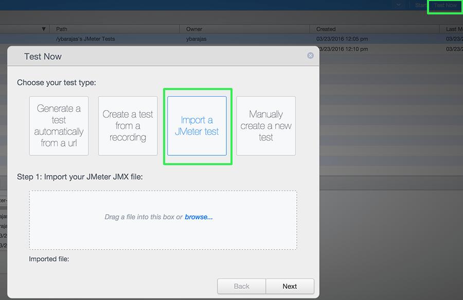 JMeter Test Now
